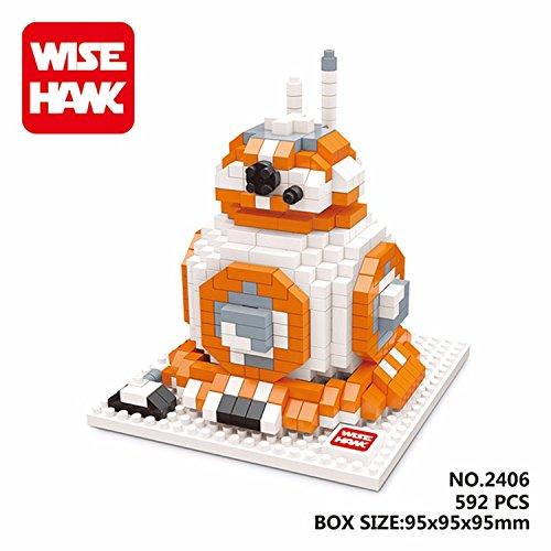 WH 2406 592 Pcs. Action Figures DIY Assemble Master Model Building Blocks Toy Present Gift (Han Solo Costume Diy)