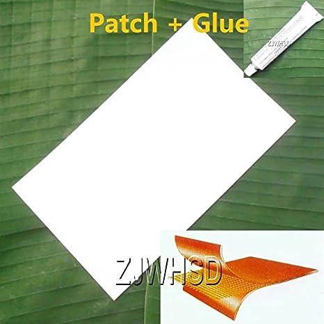 Abbott - Parche de PVC Blanco (24 x 36 cm) + Pegamento para Botes ...