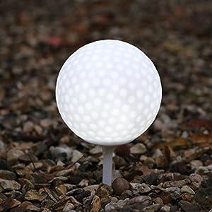 LED Licht Golfball Tee für Garten, Außenbereich, Wasserdichtes Licht von PK...