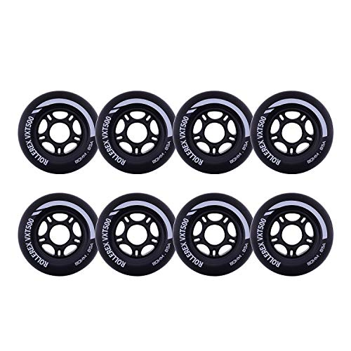 Find Cheap Rollerex VXT500 Inline Skate/Rollerblade Wheels (8-Pack)