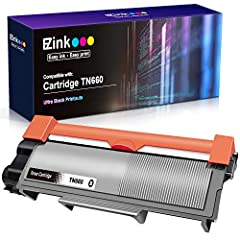 Specifications Product Name: Brother TN660 Compatible Black Toner Cartridge. Page Yield:2,600 pages per toner cartridge.  Compatible With DCP-L2520DW DCP-L2540DW HL-L2300D HL-L2360DW HL-L2320D HL-L2380DW HL-L2340DW MFC-L2700DW MFC-L2720DW MFC...