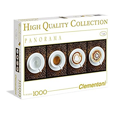 Clementoni 39275 Caff Puzzle High Quality Collection Panorama 1000 Pezzi
