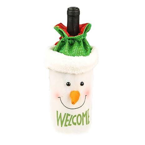 NiceButy Botella de Vino Regalo de la Fiesta de Navidad ...