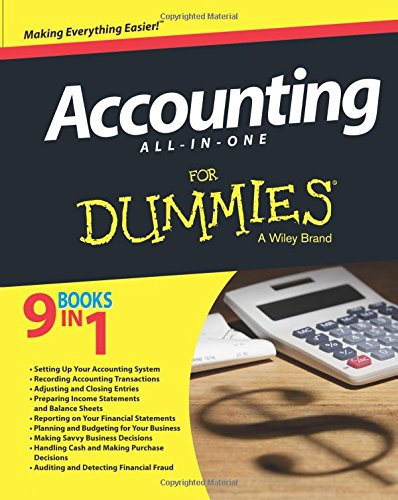 - Accounting All-in-One For Dummies (For Dummies Series)