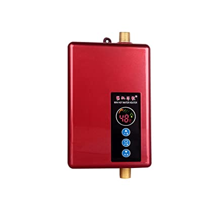 Calentador de agua eléctrico instantáneo de 220V 5.5kw Calentador de agua de baño doméstico Calentador