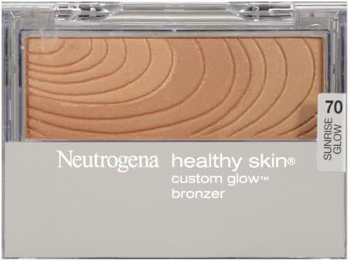 Neutrogena Healthy Skin Custom Glow, Bronzer Sunrise Glow, 0.31 Ounce