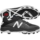 Kyпить New Balance Men's PL4040v4 Molded Baseball Shoe, Black/White, 12 2E US на Amazon.com
