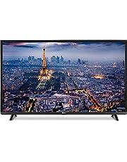 TV Monitor by Dansat LED Ultra HD 4K, 55 inch, HDMI, USB, Black