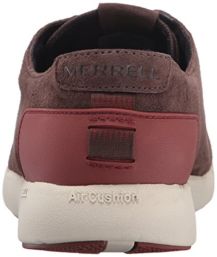 Merrell FREEWHEEL BOLT LACE - zapatilla deportiva de piel hombre Espresso