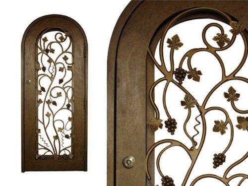 Vinotemp Iron Wine Cellar Door - Vine Ar - Iron Wine Cellar Door Shopping Results
