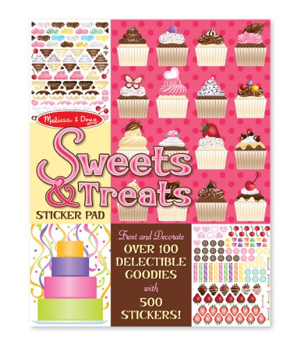 Melissa Doug Sweets Treats Sticker