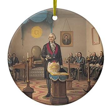 Washington gifts christmas ornament