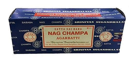 Nag Champa Incense 250 grams w/ Vrinda® incense holder by Nag Champa