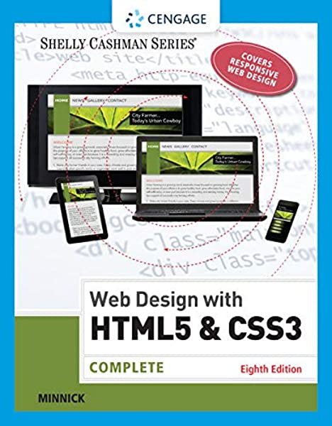 Web Design With Html Css3 Complete Shelly Cashman Series Minnick Jessica 9781305578173 Amazon Com Books