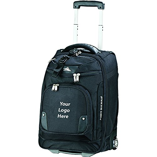 High Sierra 21'' Wheeled Carry On Computer Upright - 6 Quantity - $143.75 Each - PROMOTIONAL PRODUCT / BULK / BRANDED with YOUR LOGO / CUSTOMIZED by Sunrise Identity (Image #3)