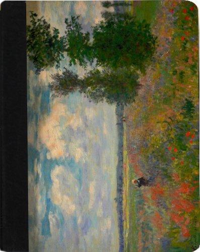 Poppy Field Argenteuil (Rikki Knight Claude Monet Art Poppy Field Argenteuil Faux Leather Case for Apple iPad Mini (Not for iPad mini 4))