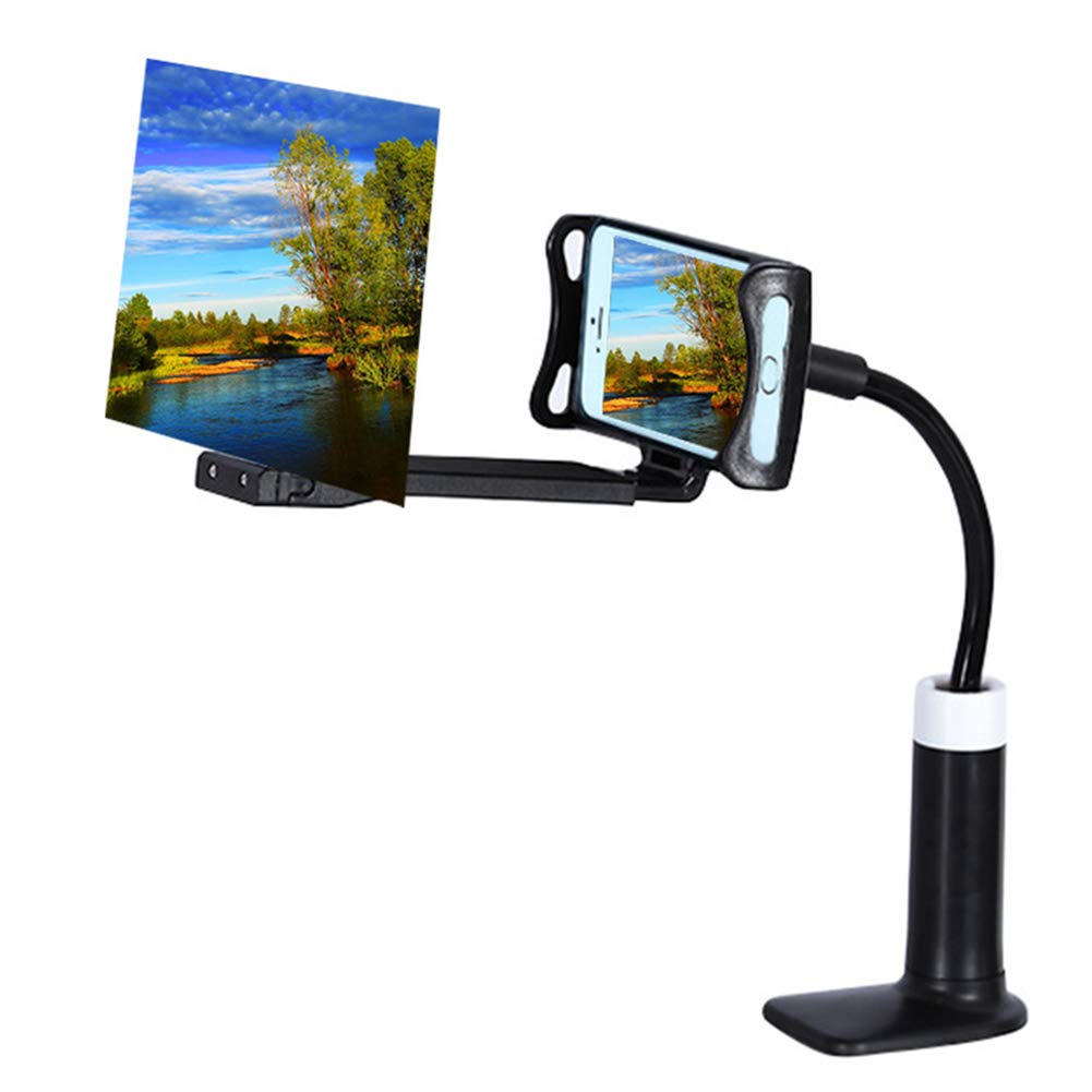 Alexsix HD Projection Phone Bracket Mobile Phone High Definition Projection Bracket Adjustable Flexible All Angles Phone Tablet Holder