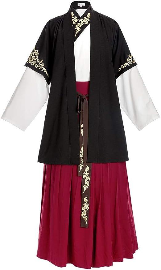 Licyen Vestido Tradicional Chino Hanfu Disfraz Ropa de Hombre ...