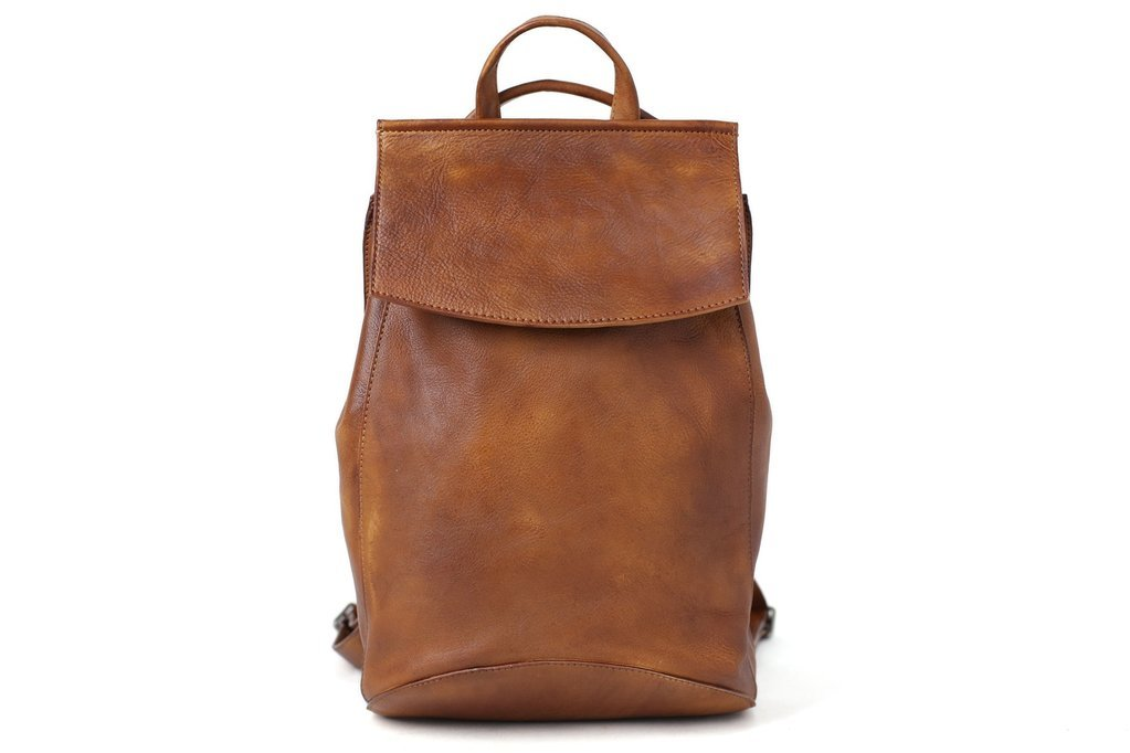 Handcrafted Top Grain Leather Backpack Travel Backpack School Backpack Unisex Backpack