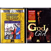 The Bibles Greatest Heroes Box Set , God Or The Girl Box Set : Christian Movies 2 Box Set Collection - 4 Discs - 7 Hours