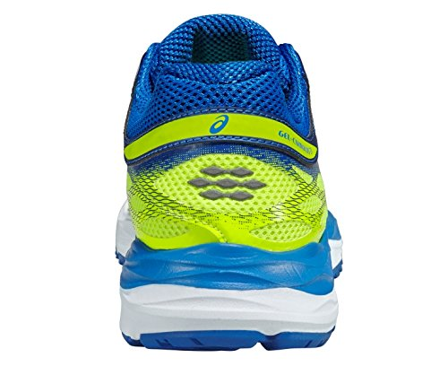 Flash C562N0736 Chaussures Elettrico Gel Running Asics Cumulus Blu 17 Argento Giallo Yellow 4tOXqp