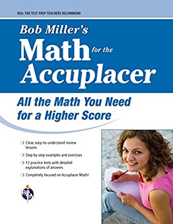 ACCUPLACER®: Bob Miller's Math Prep (College Placement Test