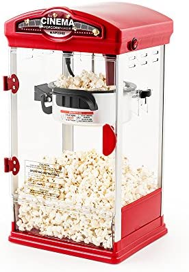 JM Posner Simply Entertaining Retro Cine Popcorn Maker – 4oz ...