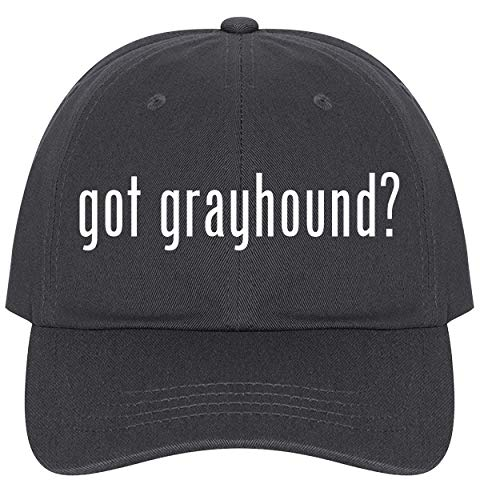 - The Town Butler got Grayhound? - A Nice Comfortable Adjustable Dad Hat Cap, Dark Grey