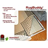 Speedheat RugBuddy 365 under Rug Space Heater (6 9 x 4 10)