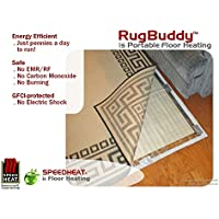 Speedheat RugBuddy 170L Runner under Rug Space Heater (7 5 x 1 10)