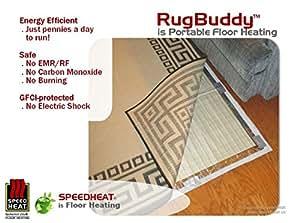 RugBuddy 940 Portable Floor Heater (8 x 11 or 5.5 x 16)