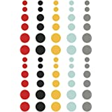 Simple Stories Say Cheese II Enamel Dots Embellishments (60 Pack)