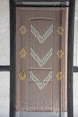 Natural Bamboo Beaded Curtains - 9