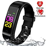 Best Waterproof Activity Trackers - Fitness Tracker Waterproof with Blood Pressure Monitor, Activity Review