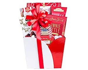 Wine Country Gift Baskets Holiday Sampler Assortment, 2 Pound