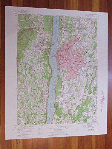Poughkeepsie New York 1959 Original Vintage USGS Topo - Highlands Arlington Map