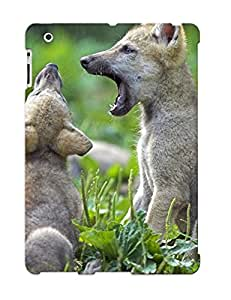 New Animal Wolf Tpu Skin Case Compatible With Ipad 2/3/4/ Perfect Design