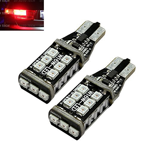 2006 Nissan Altima Brake - 2X T10 921 912 60W High Power 3535 Chip LED Red 3RD Brake High Mount Stop Light Bulbs