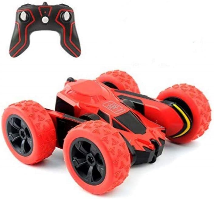 RC Cars Stunt Car Toy, Amicool 4WD 2.4Ghz Remote Control Car Double Sided Rotating Vehicles 360° Flips, Kids Toy Cars for Boys & Girls Birthday No Battery: Toys & Games