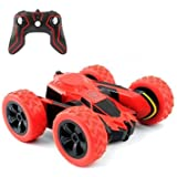 RC Cars Stunt Car Toy, Amicool 4WD 2.4Ghz Remote Control Car Double Sided Rotating Vehicles 360° Flips, Kids Toy Cars for Boy