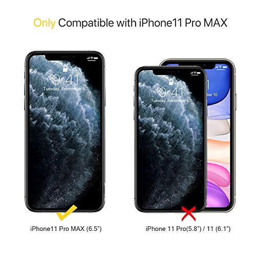 Miracase Liquid Silicone Case Compatible with iPhone 11 Pro Max 6.5 inch(2019), Gel Rubber Full Body Protection…