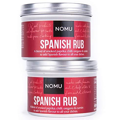 (NOMU Spanish Seasoning Rub (4.23 oz   2-pack)   MSG & Gluten Free, Non-GMO, Non-Irradiated)