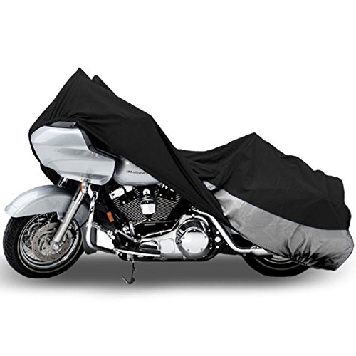 Motorcycle Bike Cover Travel Dust Storage Cover For Honda Shadow Sabre VT 700 750 (Honda Shadow Bike)