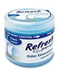Refresh Your Car! E301450000 Scented Gel Air Freshener 4.5 oz, Fresh Linen Scent