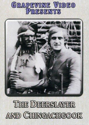 DVD : Deerslayer And Chingachgook (Black & White, Silent Movie)