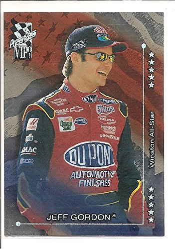 Jeff Gordon 2001 Press Pass VIP NASCAR Racing Card #X43