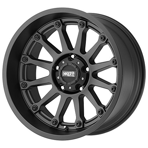 Moto Metal MO971 17 Black Wheel / Rim 5x5 with a -12mm Offset and a 78.3 Hub Bore. Partnumber MO97179050712N
