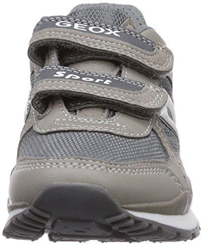 Geox J PAVEL A - zapatilla deportiva de material sintético niño gris - Grau (GREY/WHITEC0579)