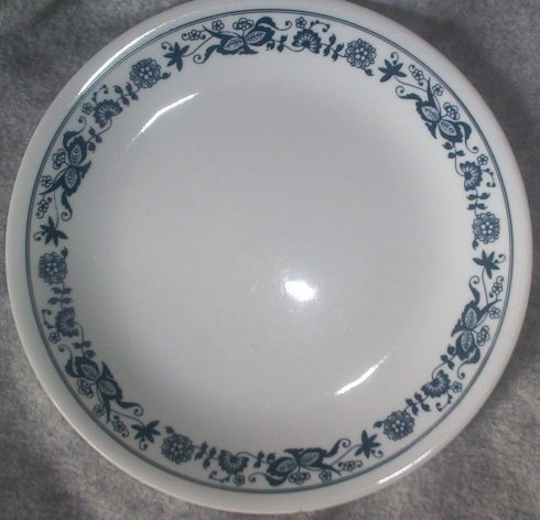 Corelle Old Town (Blue Onion) 5 Dinner - Federal Creamer Glass Glass