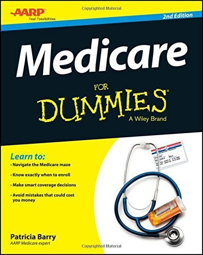 Medicare For Dummies by Barry, Patricia (September 8, 2015) Paperback